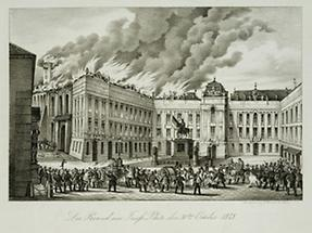 Brennender Josefsplatz