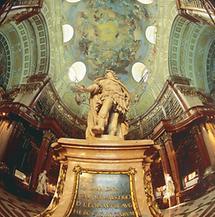 Prunksaal der Österreichischen Nationalbibliothek in Wien