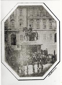 Josefsplatz anläßlich der Fronleichnamsprozession