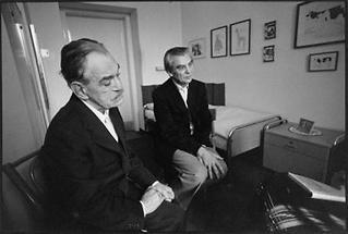 Ernst Herbeck und Leo Navratil