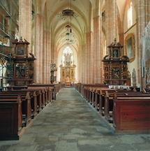 Innenansicht der Stiftskirche