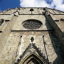 Fassade der Kirche von Neuberg