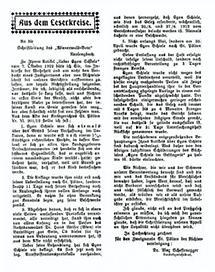Leserbrief zur Affaire von Neulengbach