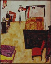 Das Zimmer von Egon Schiele in Neulengbach