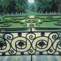 Park von Schloss Neuwaldegg in Wien