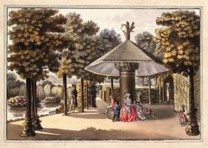 Der Garten in Neuwaldegg