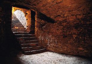 Keller des römischen Kastellturms in Mautern