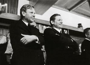 Friedrich Niederl und Josef Krainer (junior)
