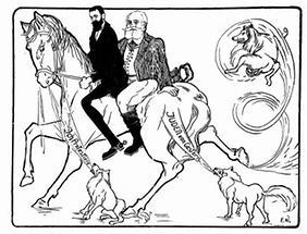 Theodor Herzl und Max Nordau