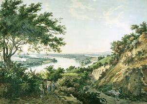 Blick auf Wien vom Nußberg