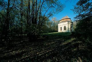 Pavillon im Park von Obersiebenbrunn