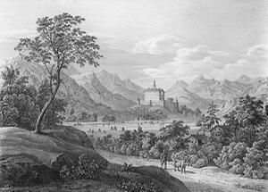 Obersteiermark. Schloss Neuhaus.