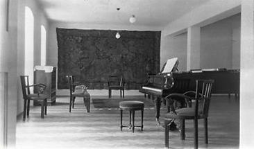 Musikzimmer der Familie Koller