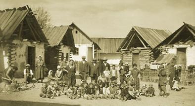 Zigeunersiedlung in Oberwart