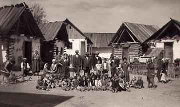 Zigeunerkolonie in Oberwart