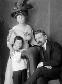 Robert Oerley mit Familie