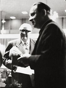 Franz Olah und Bruno Pittermann