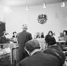 Franz Olah vor dem Richter