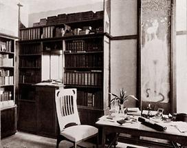 Arbeitszimmer von Hermann Bahr in Wien