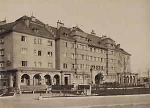 """Sozialer Wohnbau """"Sandleitenhof"""""""