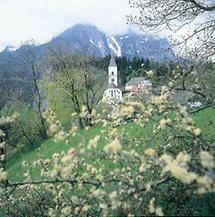 Pfarrkirche von Pürgg in der Steiermark