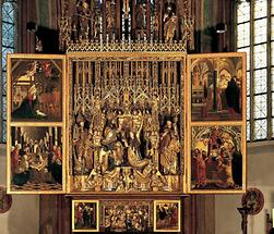 Flügelaltar in St. Wolfgang
