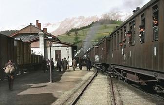 Bahnhof in Payerbach