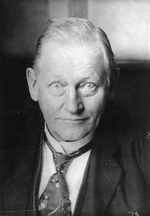 Portrait Albrecht Penck
