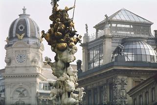 Wien: Pestsäule am Graben