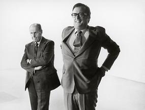 Josef Taus und Friedrich Peter