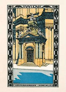 Wiener Werkstätte Postkarte Nr. 403