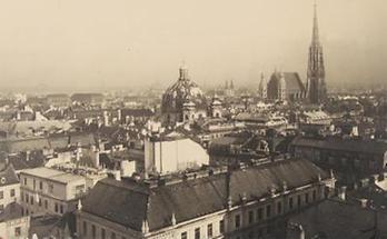 Blick auf Peterskirche und Stephansdom