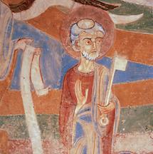 Fresko Hl. Petrus in Marienberg
