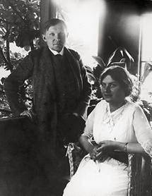 Alfons Petzold und seine Frau Johanna