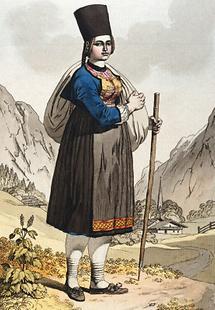 Frauentracht aus Nordtirol