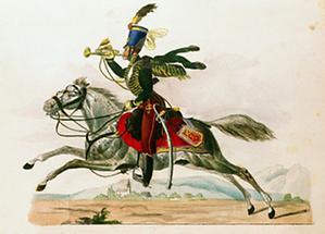 Trompeter der österreichischen Hussaren