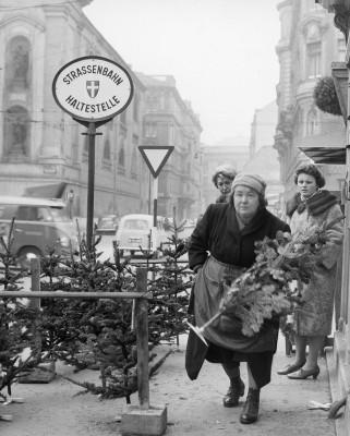 weihnachtsbaum verk uferin pflaum barbara historische bilder imagno bilder im austria forum. Black Bedroom Furniture Sets. Home Design Ideas