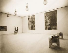 Der Hauptsaal der XVIII. Ausstellung der Secession