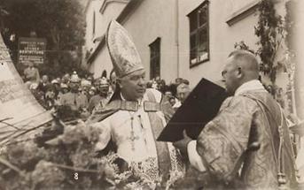Kardinalerzbischof Friedrich Gustav Piffl