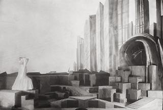 Bühnenbild vom Bühnenbildner Emil Pirchan