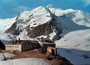 Braunschweigerhütte mit Wildspitze