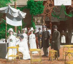 Fest des Bildungsvereins Urania mit Bürgermeister