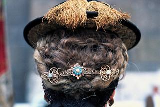 Pongauer Hut und Trachten-Haarspange