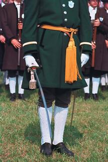 Salzburger Schützenhauptmann aus dem Pongau