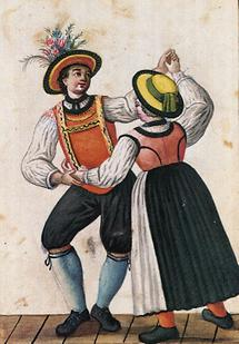Tanzendes Paar St. Johann im Pongau