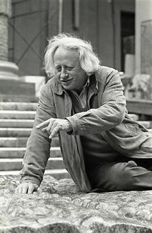 Der Bildhauer Karl Prantl