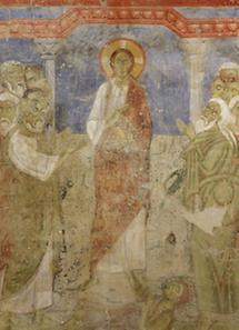 Romanische Fresken im Stift Lambach