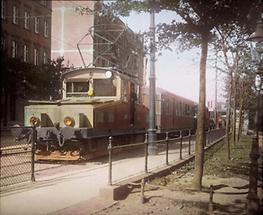 Die elektrische Lokalbahn Wien Pressburg in Wien