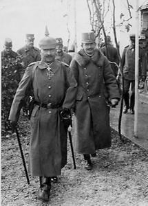 Kaiser Wilhelm II. und Kaiser Karl I.