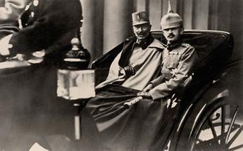 Kaiser Karl I. und Kaiser Wilhelm II